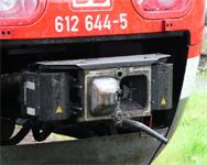 Kupplung Triebwagen