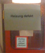 RE von Nürnberg nach Hof, 20.02.2009, 21:48