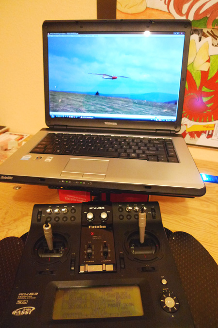 Futaba FX-30 + Reflex Flugsimulator
