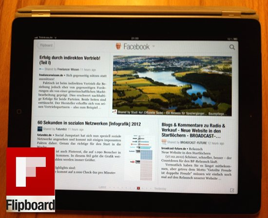 Flipboard für iPad