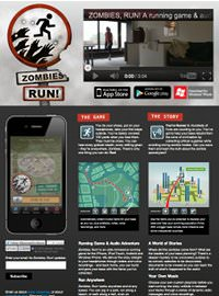 Zombies Run! Fitness App