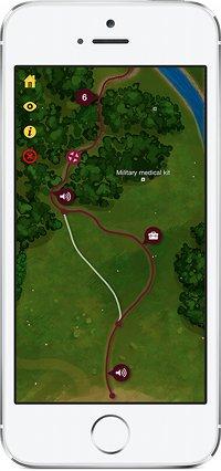 The Walk Game - Fitness-App - Screenshot