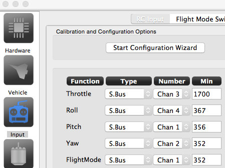 taulabs-colibri-configuration-calibration-futaba