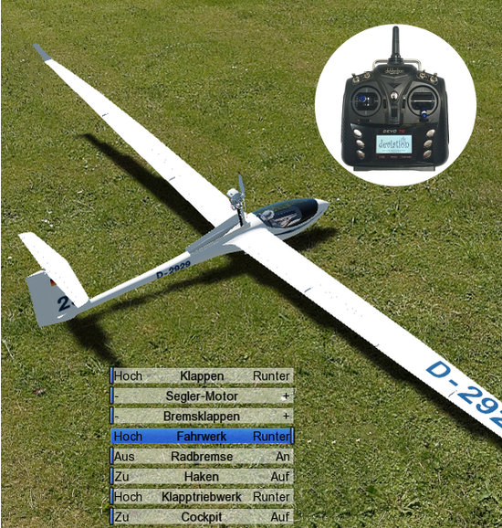 aeroflyFS7 mit Devo7E
